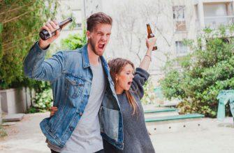 алкоголь на улице