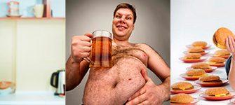 спиртное и лишний вес