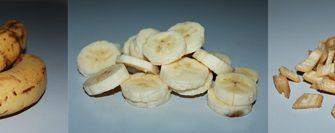 нарезанные бананы для браги