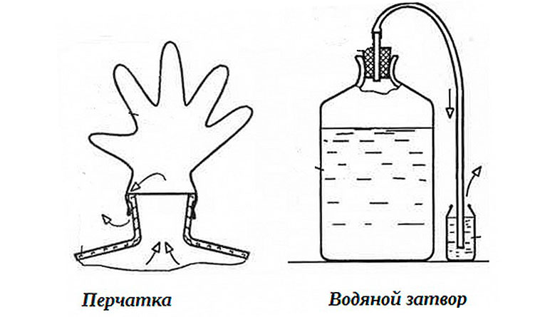простые гидрозатворы