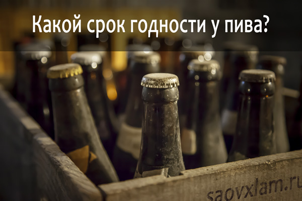 срок годности домашнего пива