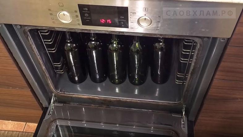 стерилизация бутылок под вино